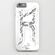 R - is for Rare - white version Slim Case iPhone 6s