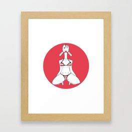 Robo-gal 2/2 Framed Art Print