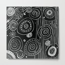 Intergalactic Metal Print