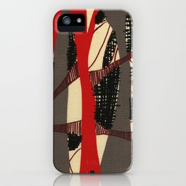 Coronary Contemporary 3 iPhone Case