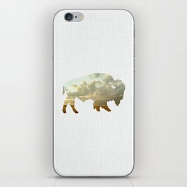 Bison and Plains iPhone Skin