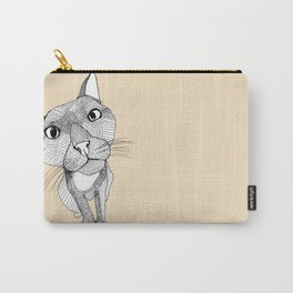 BigHead Cat Carry-All Pouch
