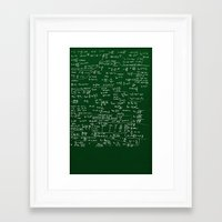 physics Framed Art Prints featuring Physics  by The Film Guy