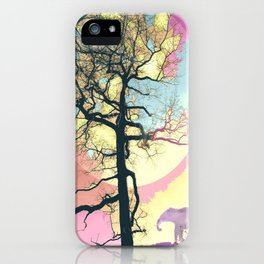 Colorful World iPhone Case