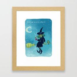Love Potion Number 9 Framed Art Print