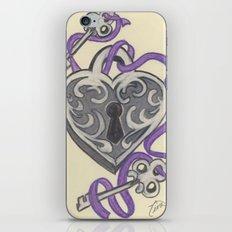 Love Lock Down iPhone & iPod Skin