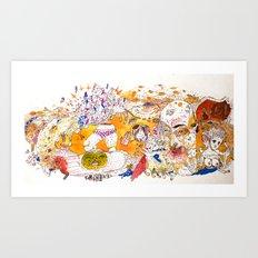 loudpipes Art Print