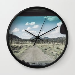 This Road Wall Clock