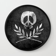 Peace is Death Wall Clock