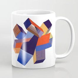 Geometric Painting by A. Mack Coffee Mug