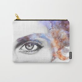 Girl with stars in her hair Carry-All Pouch