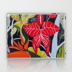 Paradise Flowers Laptop & iPad Skin