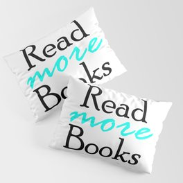 Read More Books Pillow Sham