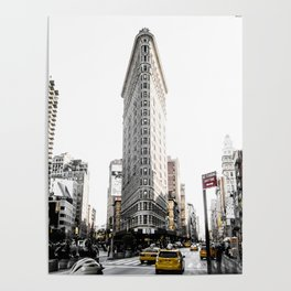 Desaturated New York Poster