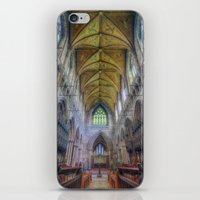 the shining iPhone & iPod Skins featuring Shining Faith by Ian Mitchell