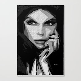 Female Expressions 601 Canvas Print