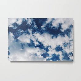 Skies of Blue Metal Print