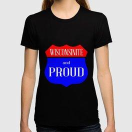 Wisconsinite And Proud T-shirt
