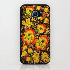 Flower Design Galaxy S7 Slim Case
