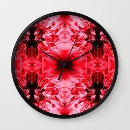 Dandelions Radiantred Wall Clock