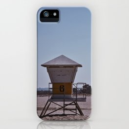 Lifeguard Station #6 iPhone Case