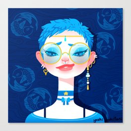 Bitch Please: Sailor Mercury Canvas Print