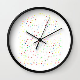 Today Is A Great Day Because It's My Sister's Birthday print Wall Clock