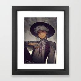Witch Yoongi Framed Art Print