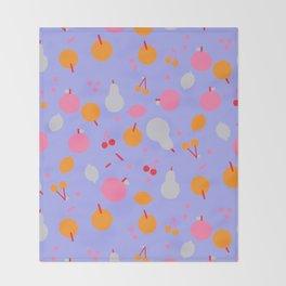 Fruity! II Throw Blanket