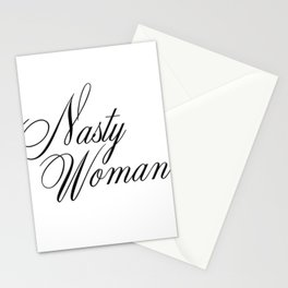 Nasty Woman Stationery Cards