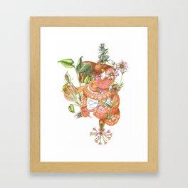 Gut Flora Framed Art Print