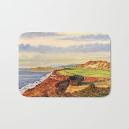 Pacific Dunes - On Bandon Dunes - Golf Course 13th Hole Bath Mat