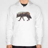 andreas preis Hoodies featuring Norwegian Woods: The Wolf by Andreas Lie