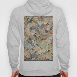 Vintage Japanese matchbox collage Hoody