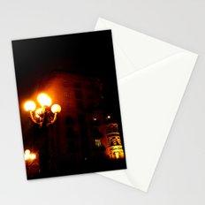 Night Crest 3 Stationery Cards