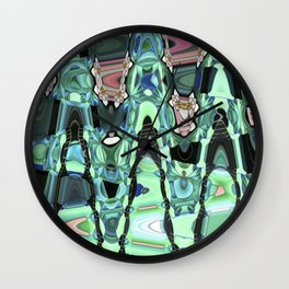 The dance of the ninfee Wall Clock