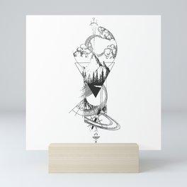 Univers Shape Mini Art Print