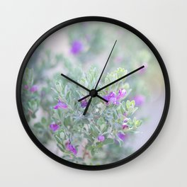 Sage in the desert Wall Clock