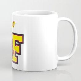 F is for Fireman Giraffe Coffee Mug