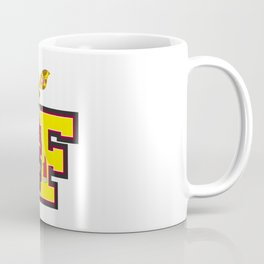 F is for Fireman Giraffe Coffee Mug