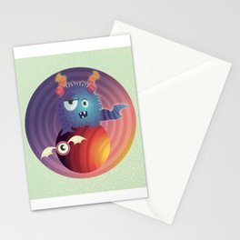 Monster in your head Stationery Cards