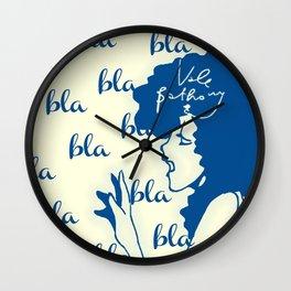 chitchat Wall Clock