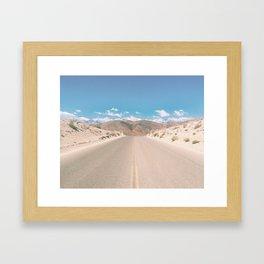 CA Desert Framed Art Print