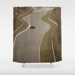 Nürburgring Nordschleife Formula 1 Racing Shower Curtain