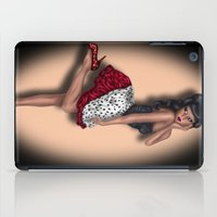 minnie mouse iPad Cases featuring Minnie by Hayley Blythe Art