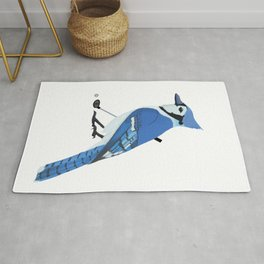 Golf Blue Jay Rug