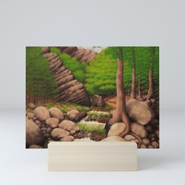 Craig Creek Cliff Mini Art Print