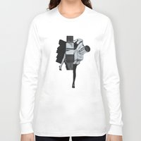wisconsin Long Sleeve T-shirts featuring Wisconsin Avenue by Joe Castro