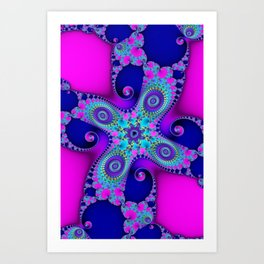 """Candy"" Fractal Art Print Art Print"