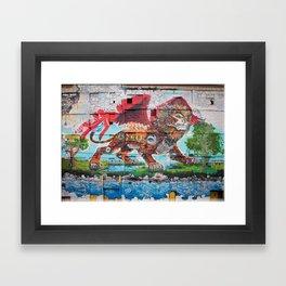 Detroit Chimera ( kī-ˈmir-ə ) Framed Art Print